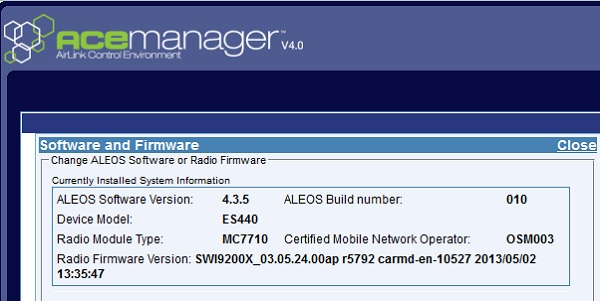 Firmware Update auf 4.3.5