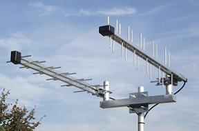 Antennenträger von Metallbau Nestler gefertigt