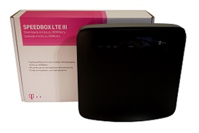 Gigabit Router Speedbox LTE III der Telekom