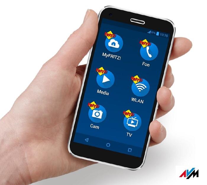FRITZ!App: Der FRITZ!Faktor für Smartphone und Tablet