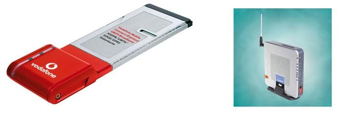 PCMCIA Karte und Linksys Router