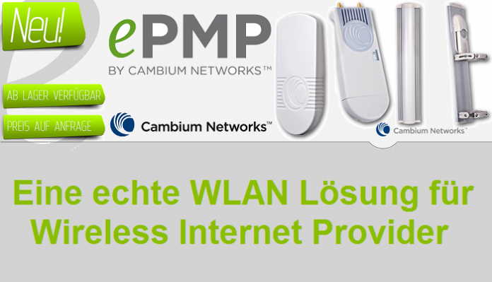 Produktvorstellung des ePMP 1000 von Cambium Networks