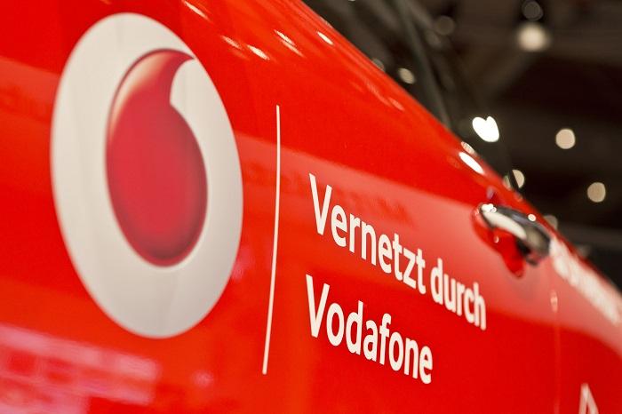 Vernetzt durch Vodafone